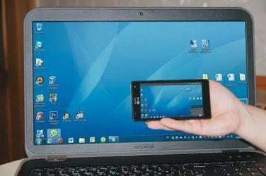 Управление мобильным телефоном с компьютера