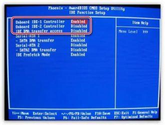 Как отключить жесткий диск в биосе?