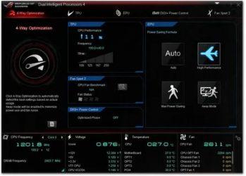 Управление кулерами компьютера Windows 10