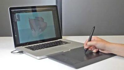 Как подключить графический планшет к ноутбуку?