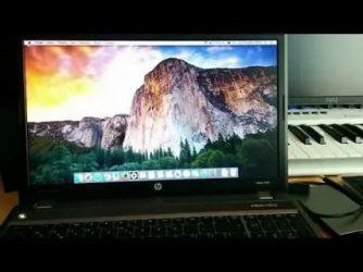 Как установить Mac os на ноутбук?
